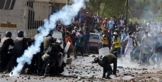 Si siembras extractivismos, cosecharás violencias