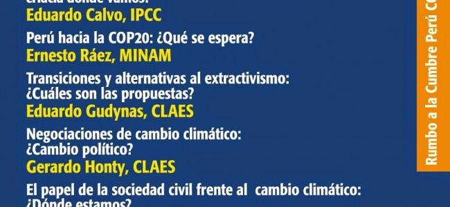 Cambio climático, extractivismo y transiciones: hacia dónde vamos?
