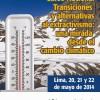 Transiciones y alternativas al extractivismo y cambio climático