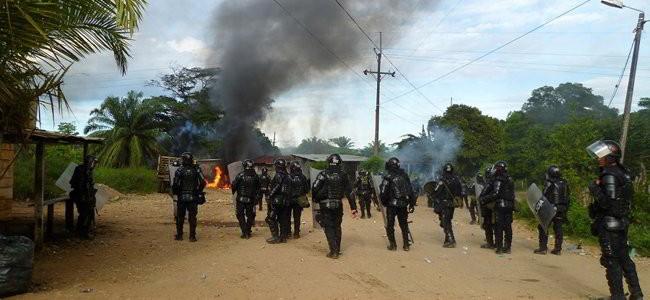 La maldición de la violencia. Extractivismo al desnudo