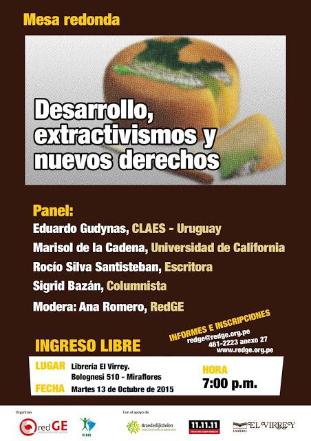 PreentacionExctractivismos2015Lima