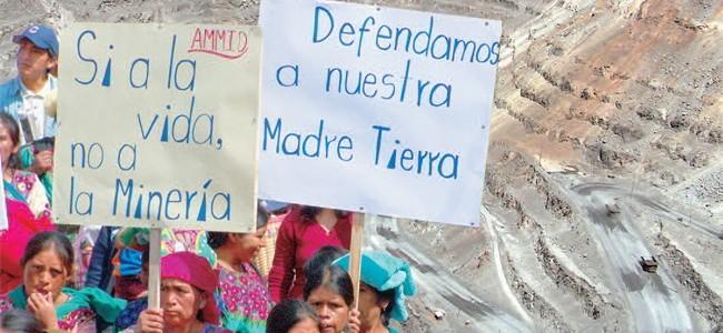 Cuando tiemblan los derechos: extractivismo y criminalización en América Latina